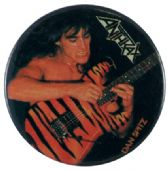 Anthrax - 'Dan Spitz' Button Badge